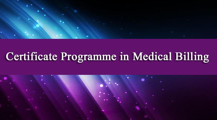 Certificate Programme in Medical Billing
